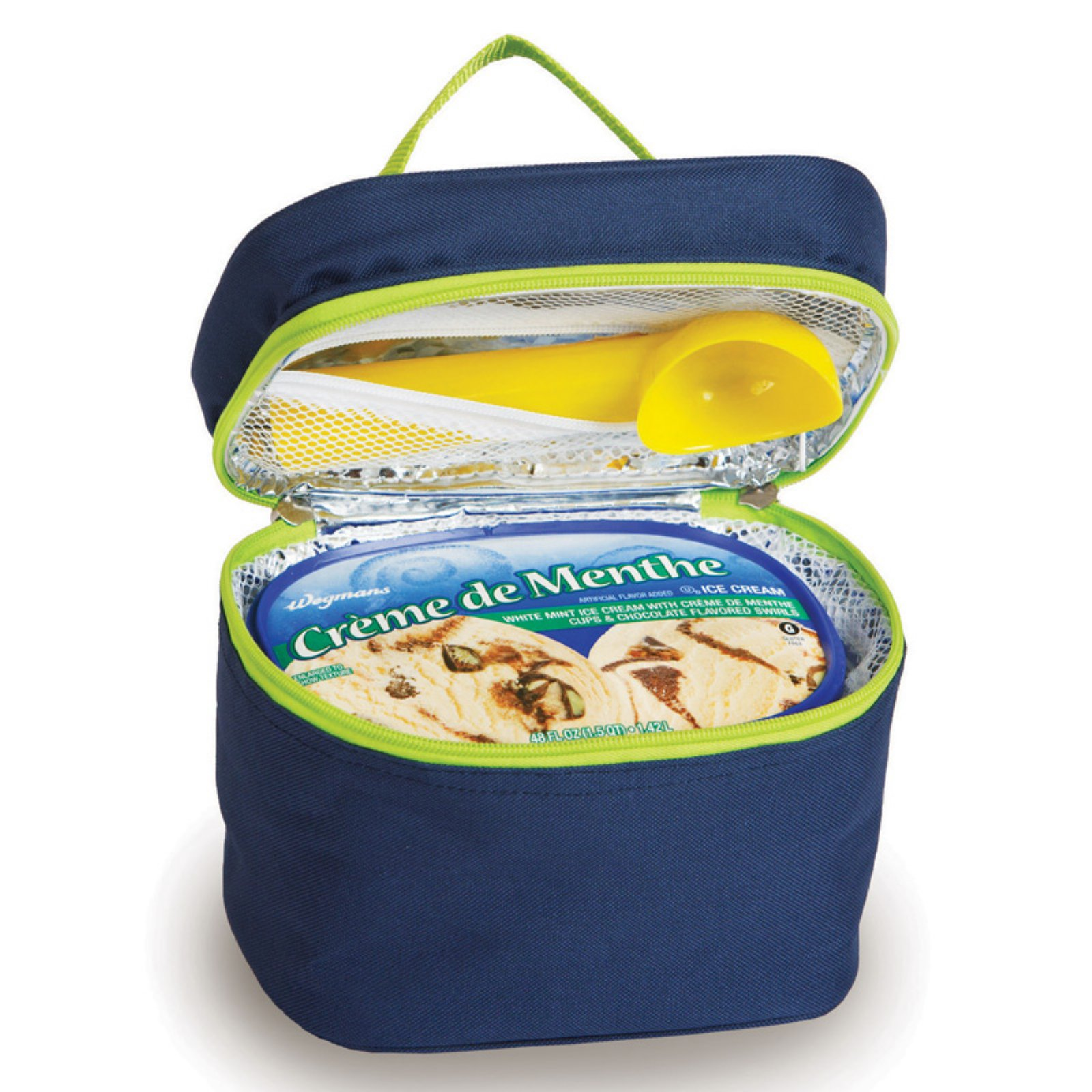 Picnic Plus Navy Ice Cream Cooler Carrier