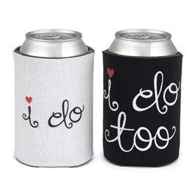 I do & I do too Can Cooler Set