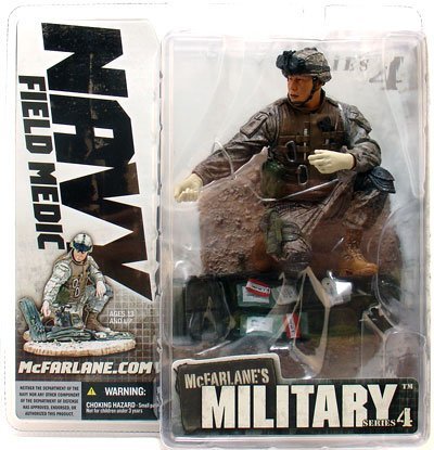"McFarlane Toys 6"" Military Series 4 Field Medic Asian American by"