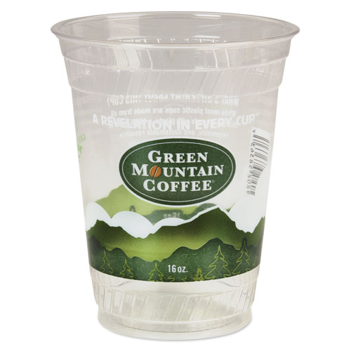 Green Mountain Coffee Roasters Cold Cups, 16-18 oz, Plast...