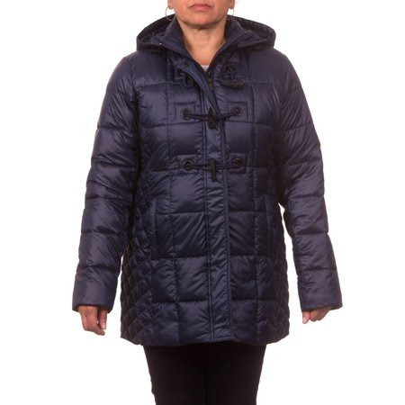 Women's Down Blend Hooded Toggle Coat for $<!---->