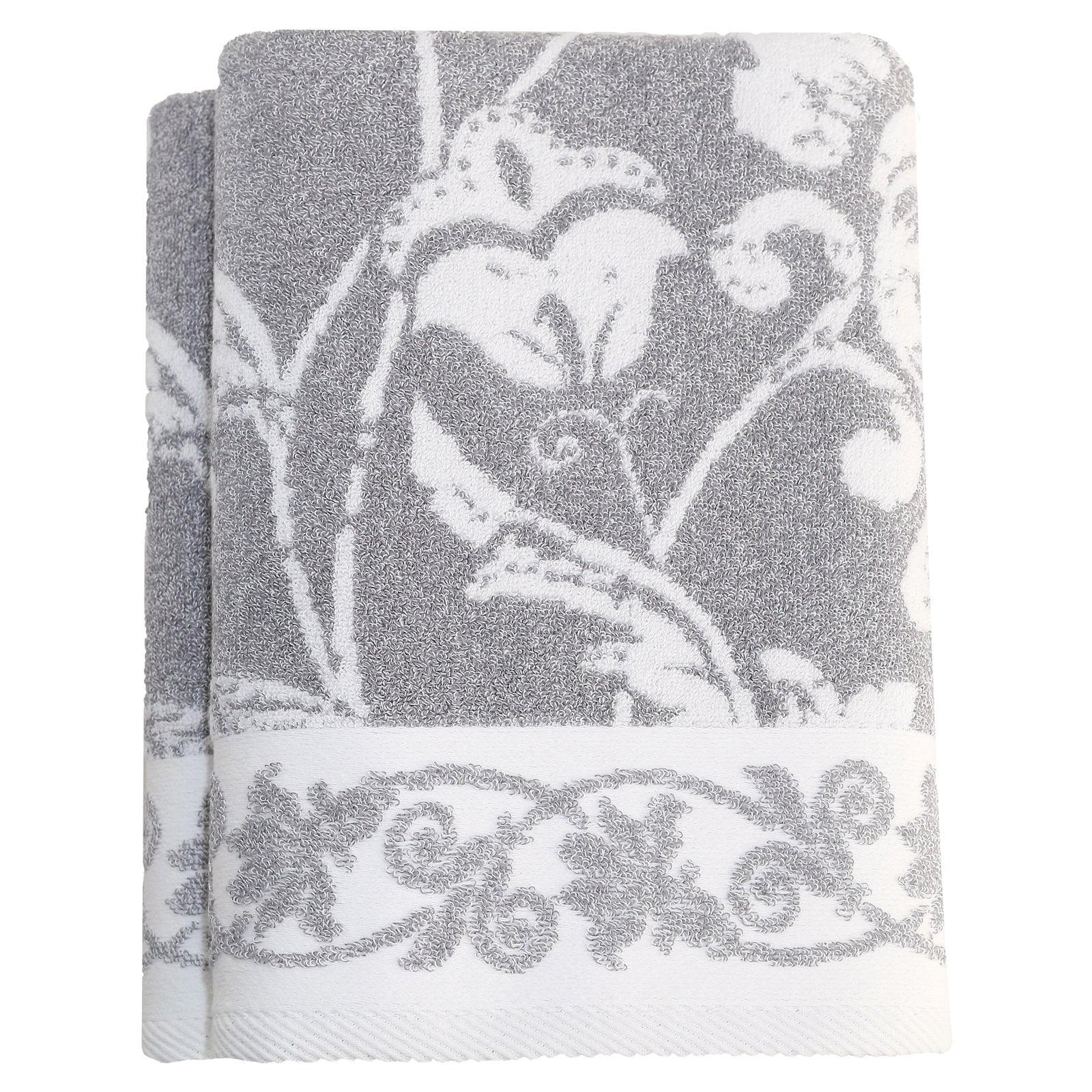 Linum Home Penelope Bath Towels Set of 2 by Linum Home Textiles LLC