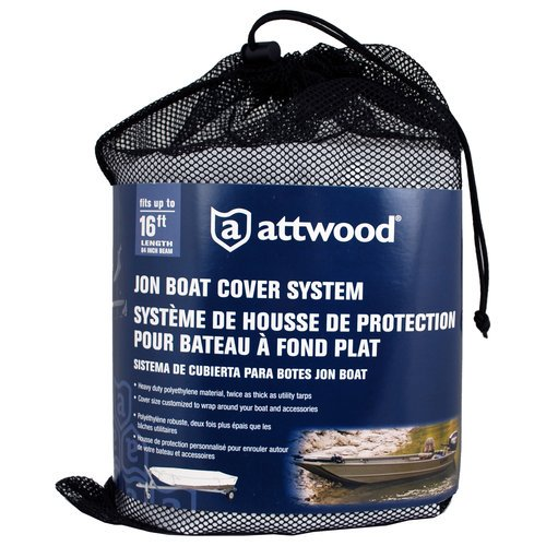 Attwood Corporation Jon Boat Cover System - Walmart.com - Walmart.com