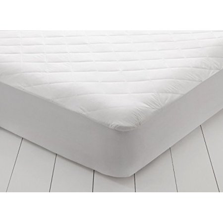East Coast Bedding Overfilled Quilted Hypoallergenic Ultra Soft Cotton Mattress Pad Cover - Antibacterial - Breathable, 10 Year Warranty (Twin XL)