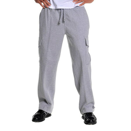 Atlanta Athletic Club - Pro Club Heavyweight Cargo Sweatpants Fleece Long Pants Comfort Activewear