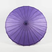 "Quasimoon 28"" Purple Paper Parasol Umbrella by PaperLanternStore"