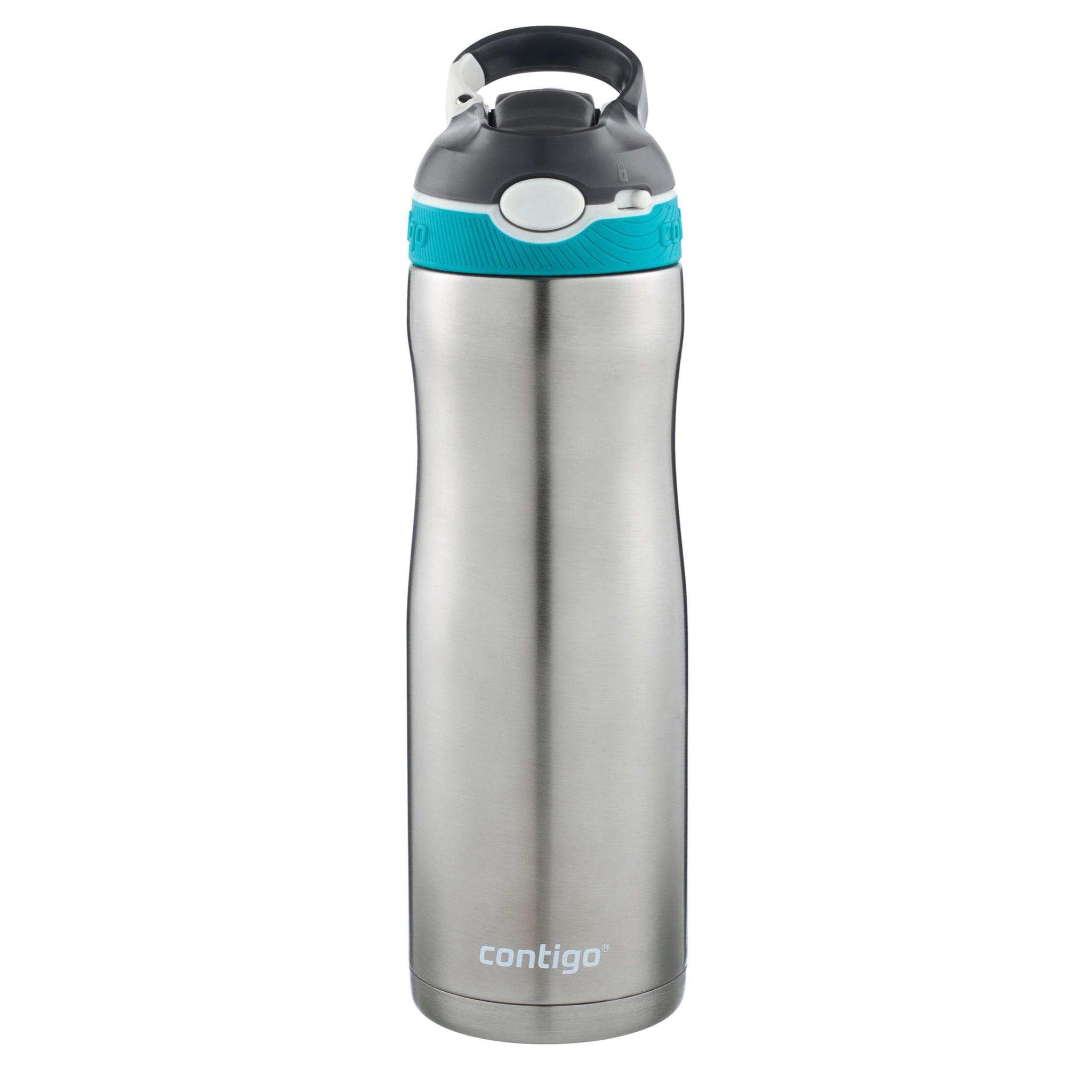 Contigo AUTOSPOUT Straw Ashland Chill Stainless Steel Water Bottle, 20 oz., SS Scuba