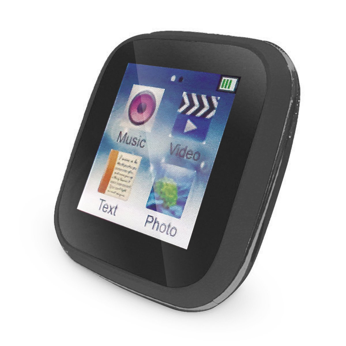 HOTT 8GB MP3 Player Touchscreen Digital Music and Video with FM Radio - A22