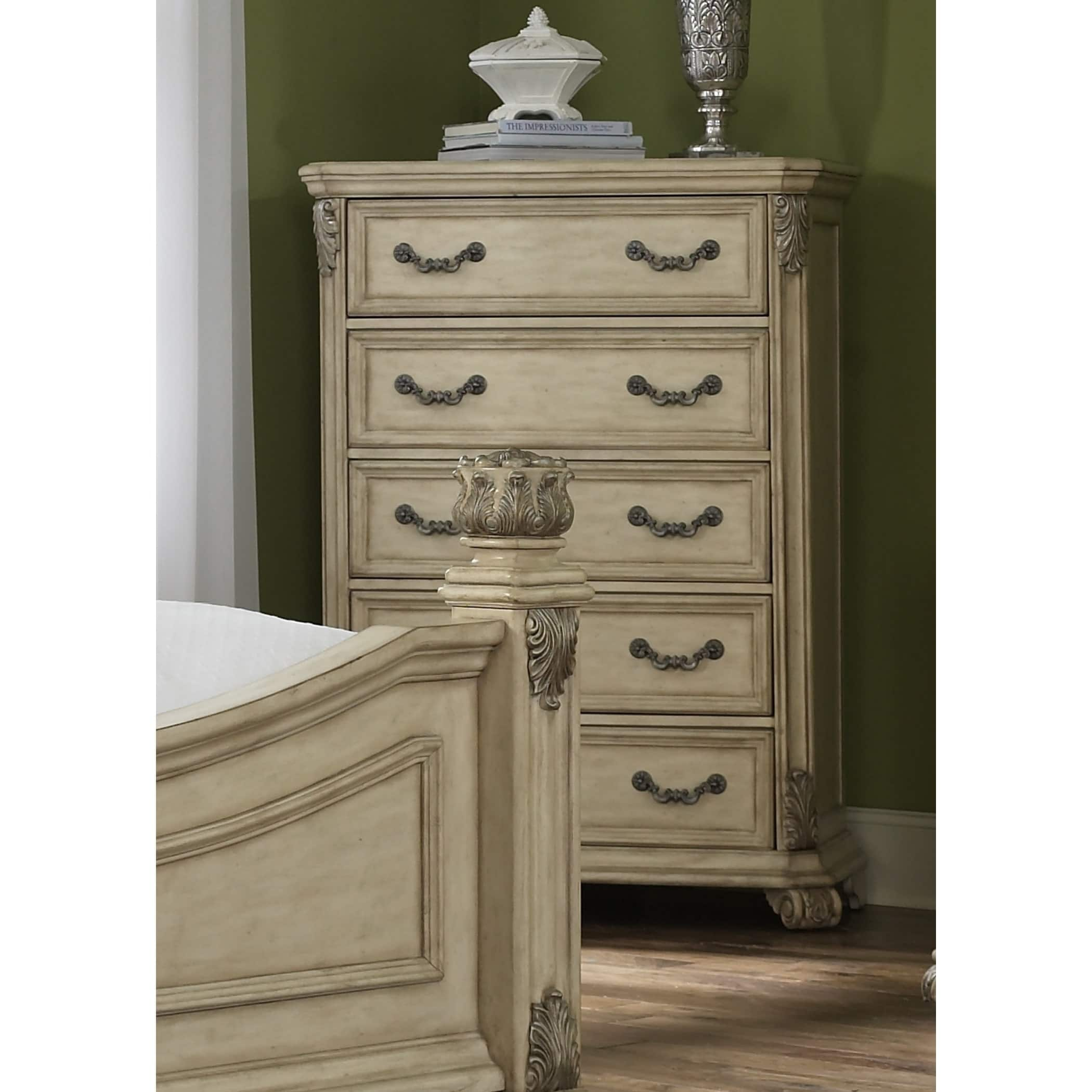 Liberty Messina Estates II Antique Ivory 5-Drawer Chest