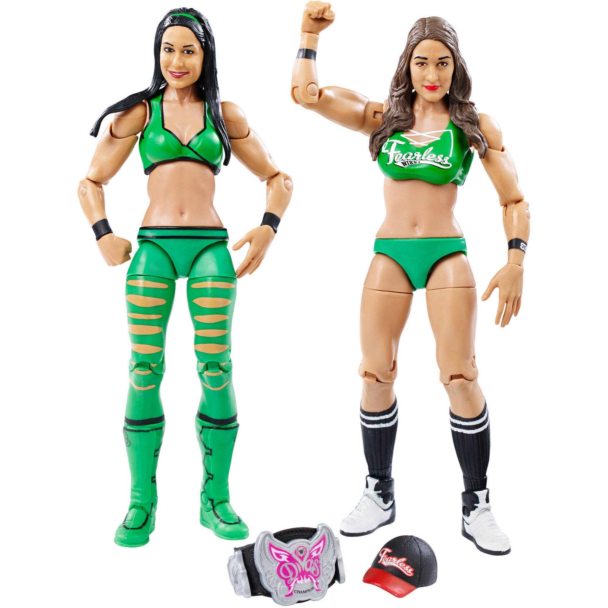 WWE 2-Pack Brie and Nikki Bella Figures