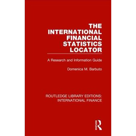 The International Financial Statistics Locator : A Research and Information