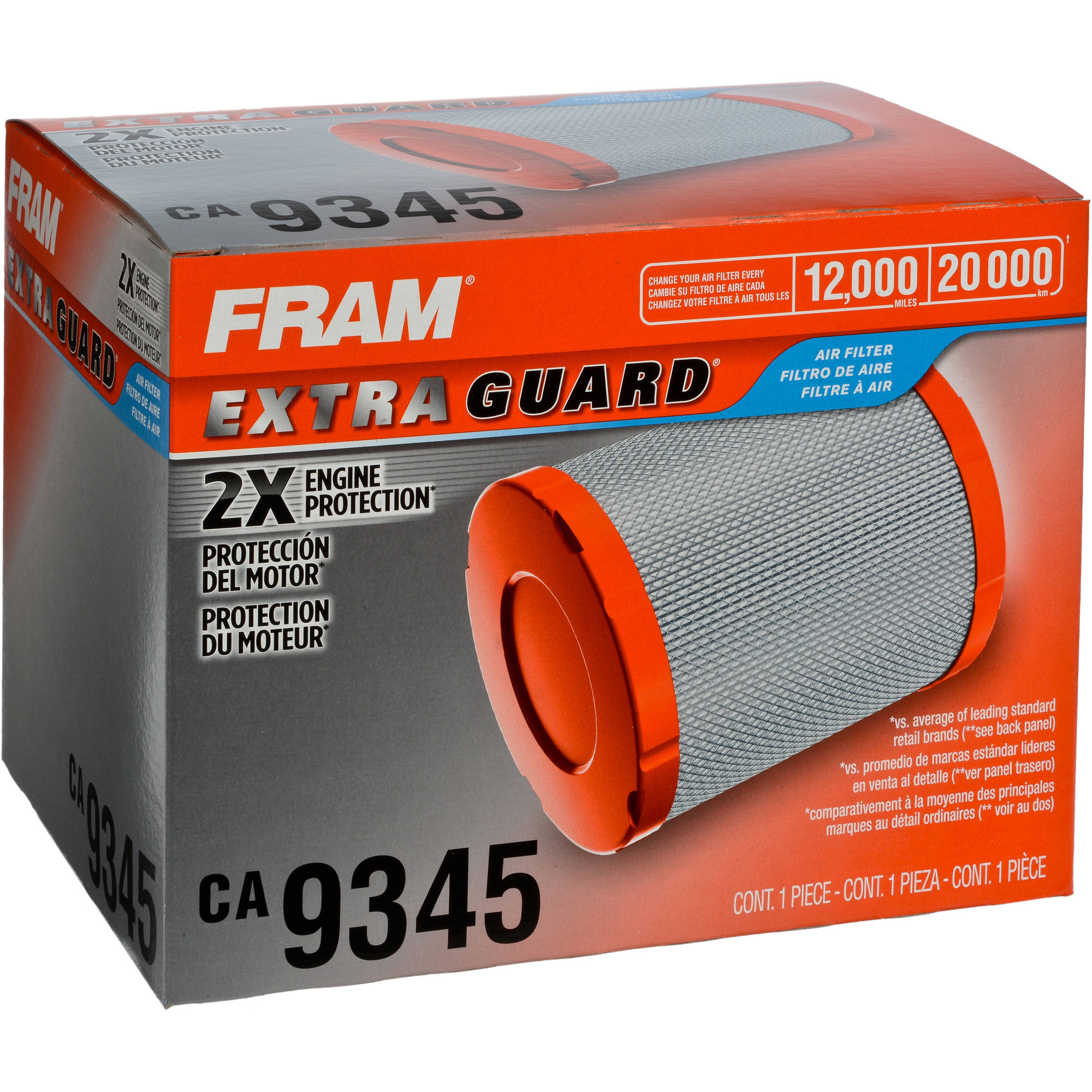 FRAM Extra Guard Air Filter, CA9345