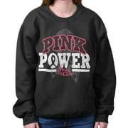 Pray For The Cure Pink Power Shirt | Cancer Awareness Ribbon Sweatshirt