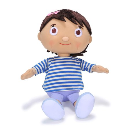 "Little Baby Bum Singing Mia, 4"" Soft Stuffed Plush"