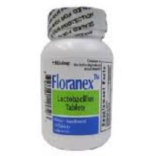Floranex Dietary Supplement Tablets [New Formula] 50 ea (Pack of 3)