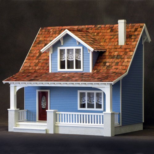 Real Good Toys Beachside Bungalow Dollhouse Kit - 1 Inch Scale