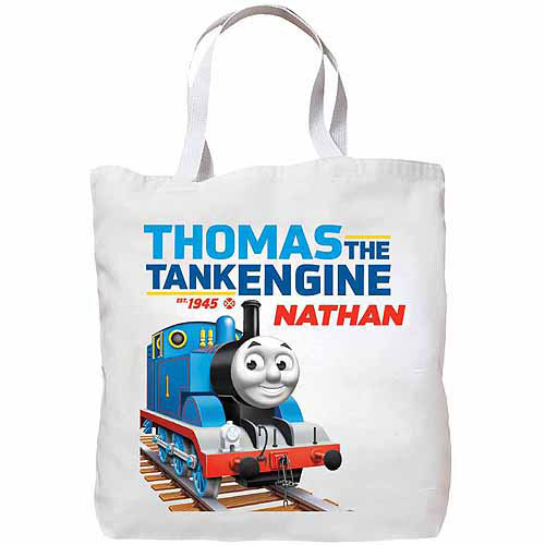 Personalized Thomas & Friends Tank Engine Tote Bag