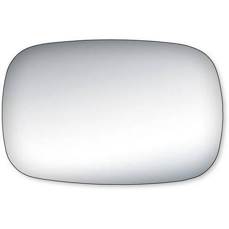 99007 - Fit System Driver Side Mirror Glass, El Camino, Malibu Wagon, Grand LeMans Sport, LeMans, Skyhawk, Catalina, Century, Regal, Chevy Caprice Sedan - check description for additional vehicle info (Pontiac Lemans Wagon)