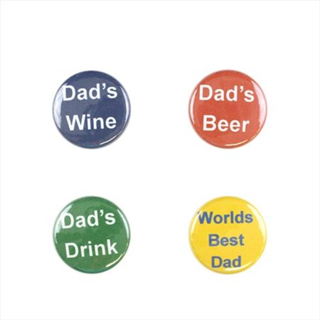 Il Bere C-DADS-B Wine and Drink Charms Holiday Collection - Dad;s Day