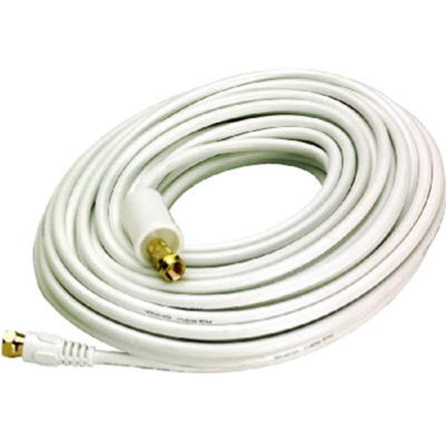 VHW112N White, 50 ft. RG6 Coaxial Cable - image 1 de 1