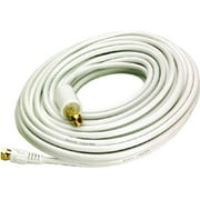 Audiovox VHW112N White, 50 ft. RG6 Coaxial Cable