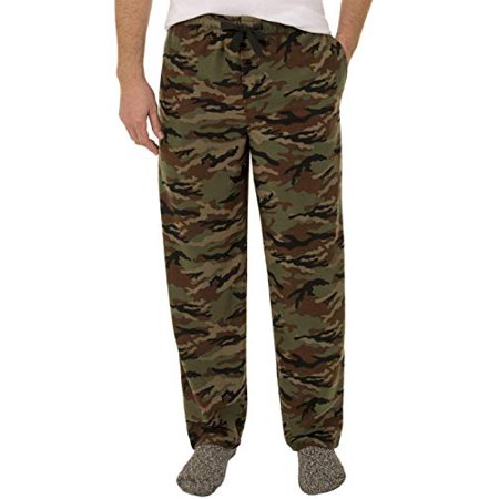 Briefly Stated Men's Fruit of Loom Fleece Sleep Pants (Large,