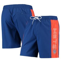 New York Mets G-III Sports by Carl Banks Outfield Volley Swim Shorts - Royal