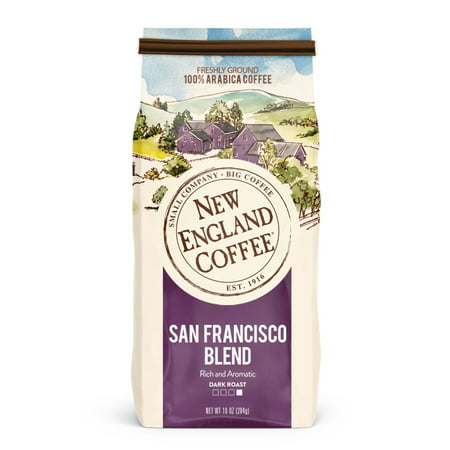 New England Coffee San Francisco, 10 Oz. (Best Cinnamon Rolls San Francisco)