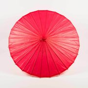 "Quasimoon 28"" Red Paper Parasol Umbrella by PaperLanternStore"