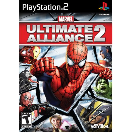 Marvel Ultimate Alliance 2 - PS2 (Refurbished)