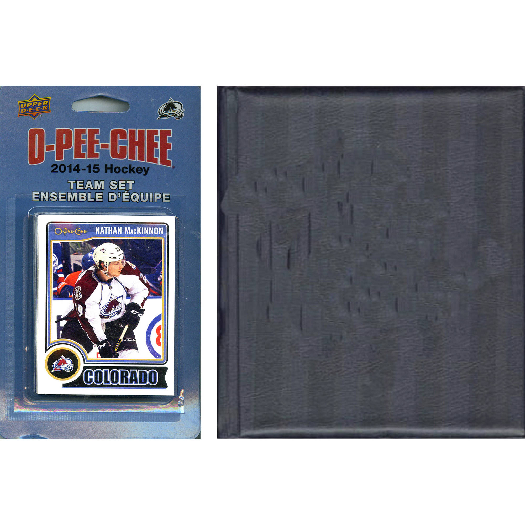 C&I Collectables NHL Colorado Avalanche 2014 O-Pee-Chee Team Set and Storage Album