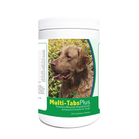 Healthy Breeds Dog Multi Tab Vitamin And Mineral Supplement For Chesapeake Bay Retriever  365 Chews