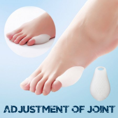 Little Toe Bunion Protectors Pads Feet Foot Pain Relief Corn Callus Latex Gel - image 8 de 9