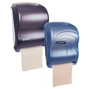 San Jamar T1370SS 16.75 x 10 x 12.5 in. Tear N Dry, Touchless Roll Towel Dispenser Silver by SAN JAMAR