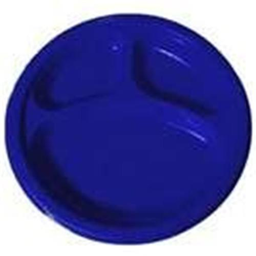 105 Bright Royal Blue Plastic Divided Dinner Plates 10 inch - Pack of  sc 1 st  Walmart.com & Amscan 43033. 105 Bright Royal Blue Plastic Divided Dinner Plates 10 ...