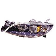 Go-Parts OE Replacement for 2004 - 2009 Mazda 3 Mazda3 Headlight Assembly (Sedan) - Left (Driver) BN8P-51-0L0D MA2518108 Replacement For Mazda 3