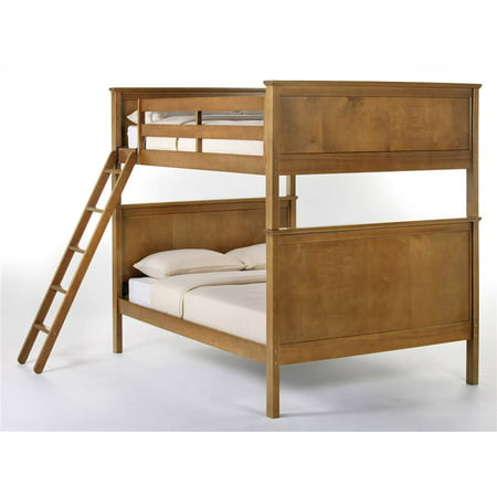 School House Casey Full Bunk Bed W Reversible Ladder