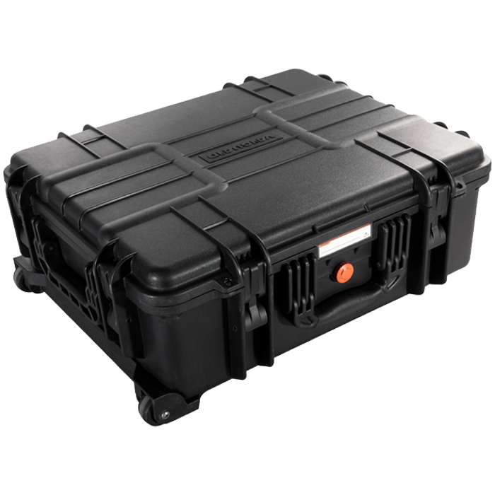 Vanguard Supreme 53F Waterproof and Airtight Hard Case with Foam & Wheels