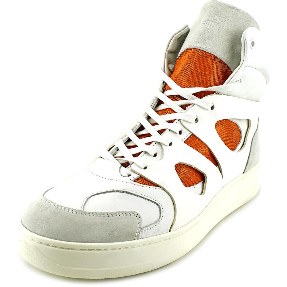Alexander McQueen By Puma MCQ Move Mid Open   Leather  Sneakers