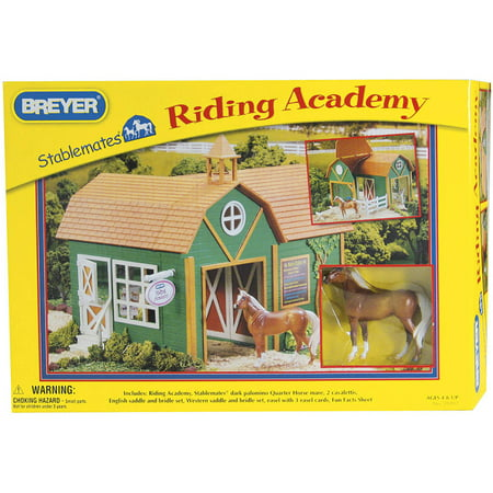 Breyer Stablemates Riding Academy Horse Barn (Breyer Barn And Horses)