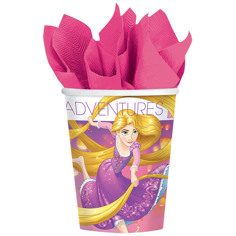 Tangled 9oz Cups (8 Count)