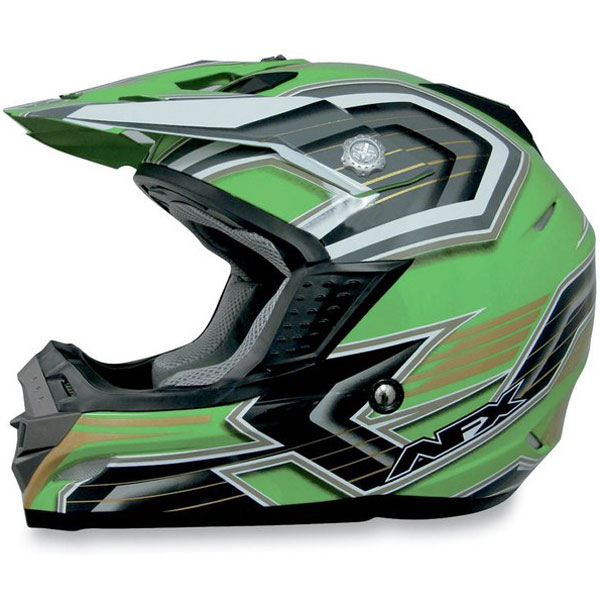 AFX FX-19 Multi MX Helmet Green