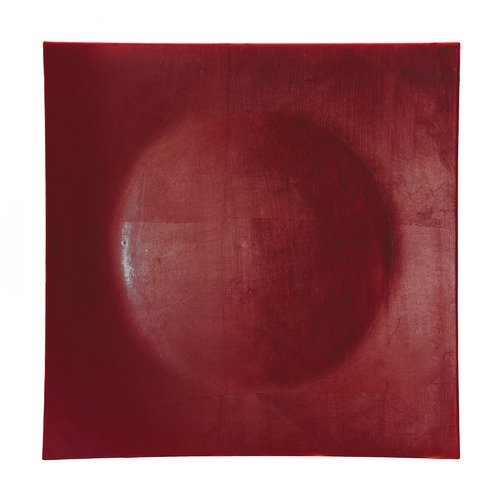 TenStrawberryStreet Lacquer 12'' Red Square Charger Plate (Set of 12)
