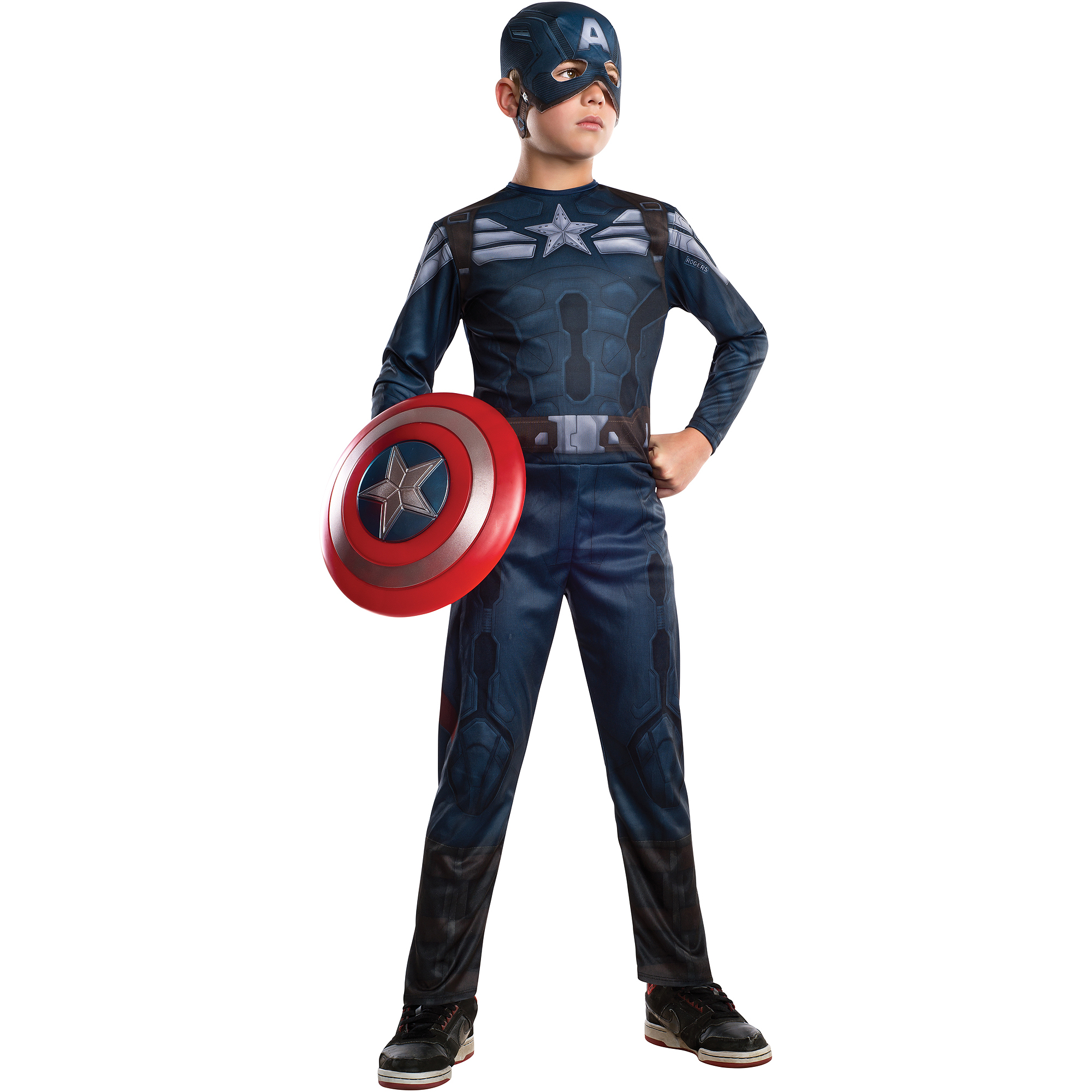 Captain America 2 Stealth Child Halloween Costume