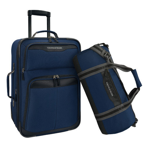 U.S. Traveler 2 Piece Luggage Set