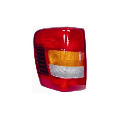 2002-2004 Jeep Grand Cherokee Driver Left Side Rear Back Lamp Tail