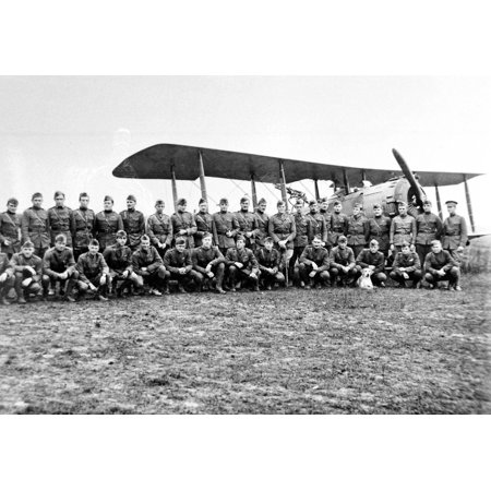 Canvas Print 1st Aero Squadron1st Aero SquadronJulvecourt, France Stretched Canvas 10 x 14