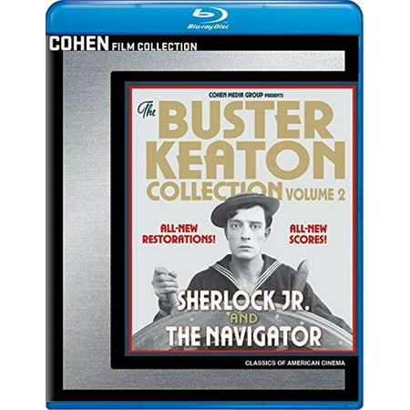 The Buster Keaton Collection: Volume 2 (Blu-ray)