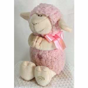 Stephan Baby 133813 Toy Plush Musical Lamb Jesus Loves Me 11 In. Pink
