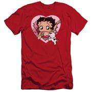 Betty Boop I Love Betty Mens Slim Fit Shirt